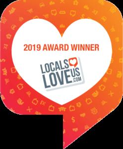 Locals Love Us 2019 Award Winner